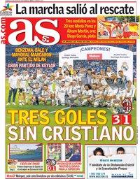 capa Jornal As de 12 agosto 2018