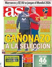 capa Jornal As de 13 junho 2018