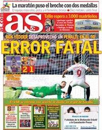 capa Jornal As de 13 agosto 2018
