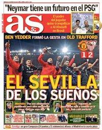 capa Jornal As de 14 março 2018