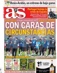 capa Jornal As de 14 junho 2018