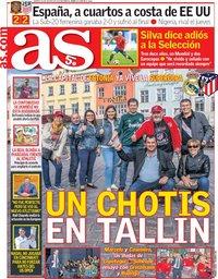 capa Jornal As de 14 agosto 2018