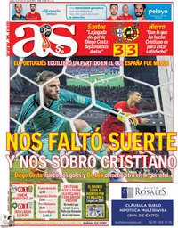 capa Jornal As de 16 junho 2018