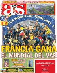 capa Jornal As de 16 julho 2018