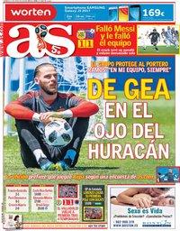 capa Jornal As de 17 junho 2018