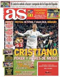 capa Jornal As de 19 março 2018