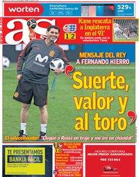 capa Jornal As de 19 junho 2018