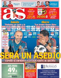 capa Jornal As de 20 junho 2018