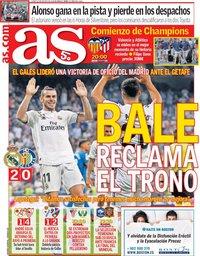 capa Jornal As de 20 agosto 2018