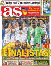 capa Jornal As de 21 agosto 2018