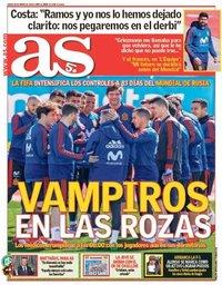 capa Jornal As de 22 março 2018