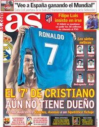 capa Jornal As de 22 agosto 2018