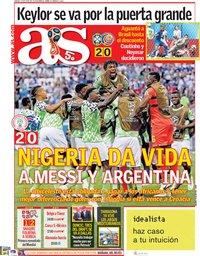 capa Jornal As de 23 junho 2018