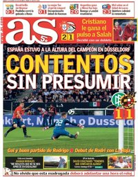 capa Jornal As de 24 março 2018