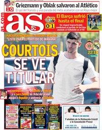 capa Jornal As de 26 agosto 2018