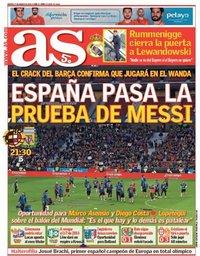 capa Jornal As de 27 março 2018