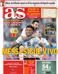 capa Jornal As de 27 junho 2018