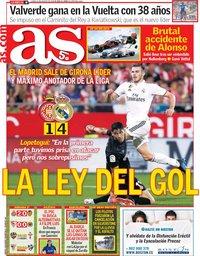 capa Jornal As de 27 agosto 2018
