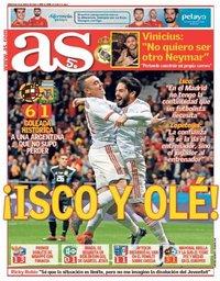 capa Jornal As de 28 março 2018