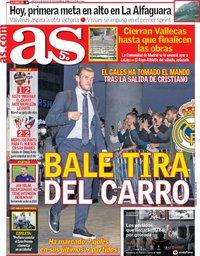 capa Jornal As de 28 agosto 2018