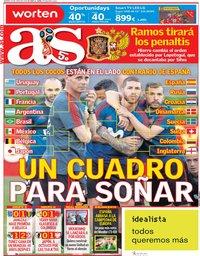 capa Jornal As de 29 junho 2018