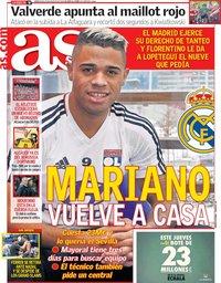 capa Jornal As de 29 agosto 2018
