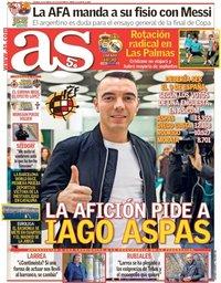 capa Jornal As de 30 março 2018