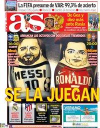 capa Jornal As de 30 junho 2018
