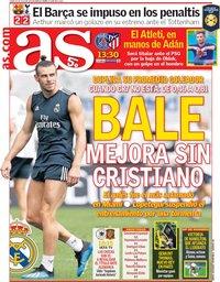 capa Jornal As de 30 julho 2018