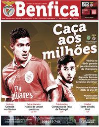 capa Jornal Benfica de 5 maio 2018