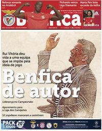 capa Jornal Benfica de 8 setembro 2018