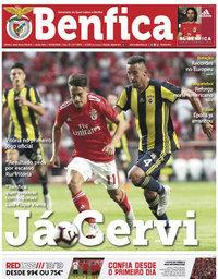 capa Jornal Benfica de 10 agosto 2018