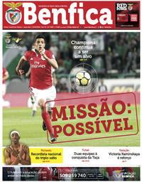 capa Jornal Benfica de 12 maio 2018