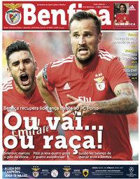 capa Jornal Benfica de 12 outubro 2018