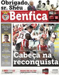 capa Jornal Benfica de 13 julho 2018