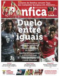 capa Jornal Benfica de 21 setembro 2018