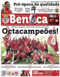 capa Jornal Benfica de 27 julho 2018