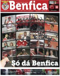 capa Jornal Benfica de 30 maio 2018