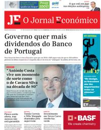 capa Jornal Económico de 4 outubro 2017