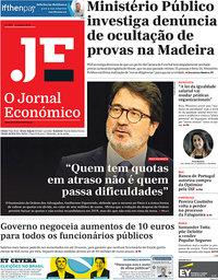 capa Jornal Económico de 5 outubro 2018