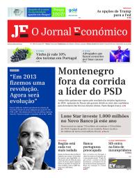 capa Jornal Económico de 8 outubro 2017
