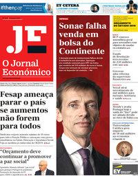 capa Jornal Económico de 12 outubro 2018