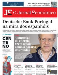 capa Jornal Económico de 13 janeiro 2018