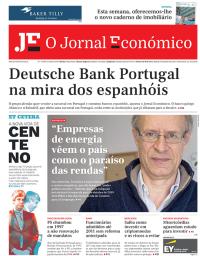 capa Jornal Económico de 16 janeiro 2018