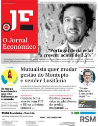capa Jornal Económico de 18 setembro 2017
