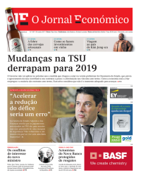capa Jornal Económico de 20 outubro 2017