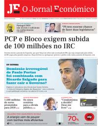 capa Jornal Económico de 22 setembro 2017