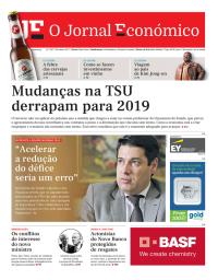 capa Jornal Económico de 22 outubro 2017