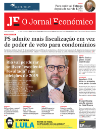 capa Jornal Económico de 24 janeiro 2018
