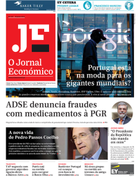 capa Jornal Económico de 28 janeiro 2018